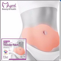 Miếng dán giảm mỡ bụng Wonder Patch hộp 5 cái.