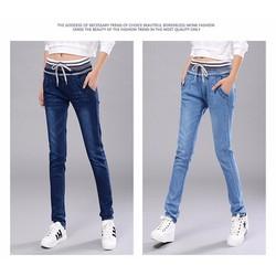 Quần jean nữ thời trang, kiểu dáng mới năng động- H11433723