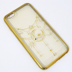Ốp lưng viền màu iPhone 6 Plus hoa văn mẫu 4