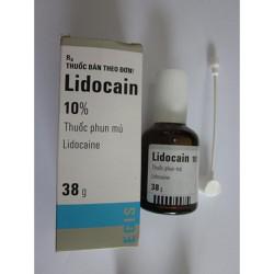 Thuốc tê xịt Lidocain 10