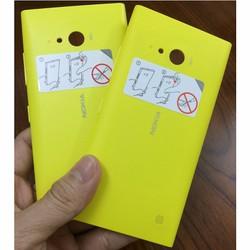 Vỏ nắp pin cho Nokia- Lumia 730 vàng
