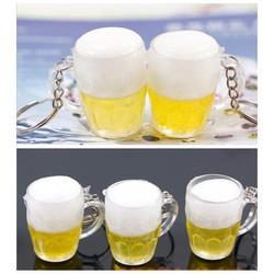 Móc khoá hình ly bia