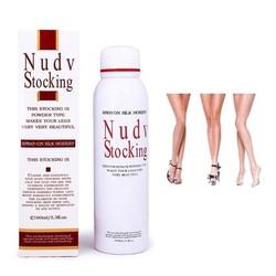 Tất phun che vết thâm trắng da không thấm nước Nudv Stocking - HX1729