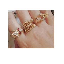 Nhẫn đeo liền tay chỉ 25k  bộ 3 chiếc