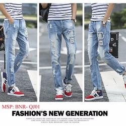 Quần jeans nam rách - Hàng cao cấp, kiểu dáng Hàn Quốc, Cá tính