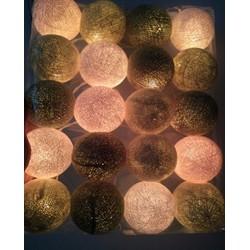 Dây bóng đèn trang trí Cotton made in thái lan