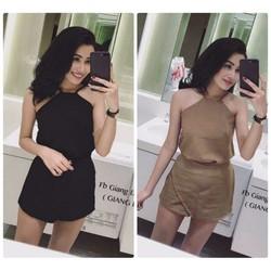 Set áo quần giả váy thiết kế sexy cực hot