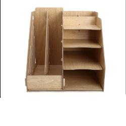 Kệ sách gỗ lắp
