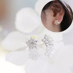 Phụ kiện trang sức - Bông tai ngôi sao đính hạt