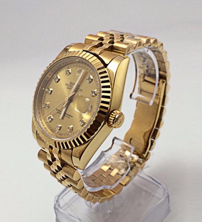 đồng hồ kim chống nước FULL GOLD kính saphire mã RL686 4