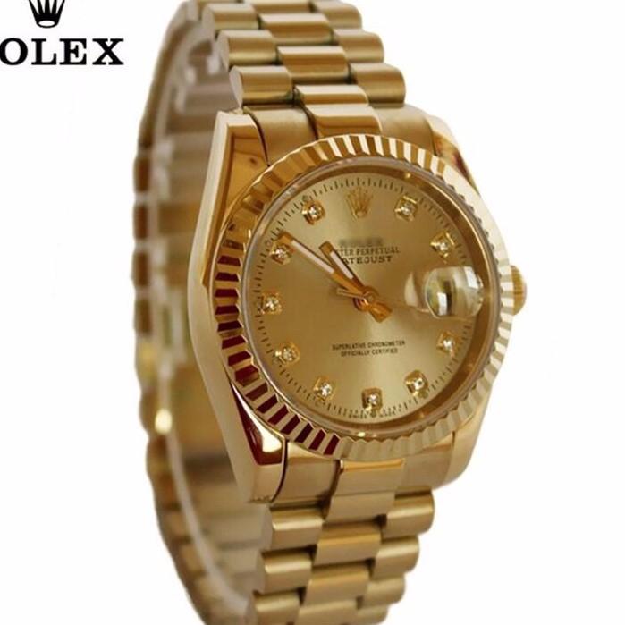 đồng hồ kim chống nước FULL GOLD kính saphire mã RL686 2