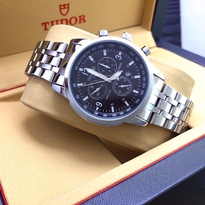 đồng hồ kim chống nước máy nhật kính saphire mã TS1852 5