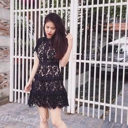 ĐẦM XÒE REN HOA LÓT TRONG TIỂU THƯ - HÀNG SHOP