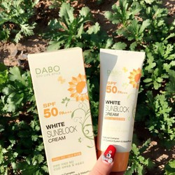 Kem chống nắng DABO White Sunblock Cream SPF50 PA+++ 🌅
