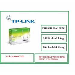 Phát WIFI TP LlNK Chuẩn N 2 Anten TL WR840N