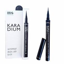 Bút kẻ mắt nước không lem Karadium Water Brush Liner Black