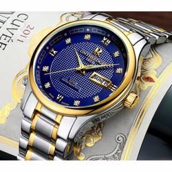 Đồng hồ nam ONTHEEDGE kình tráng sapphire