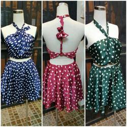Set váy áo thiết kế sexy trái tim cực hot