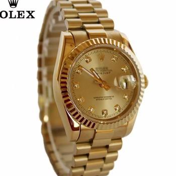 đồng hồ kim chống nước FULL GOLD kính saphire mã RL686