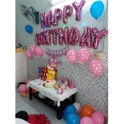 Bóng trang trí sinh nhật happy birthday