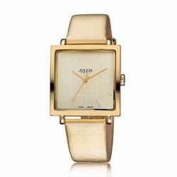 Đồng hồ nữ Julius Hàn Quốc dây da mặt vuông JU1213