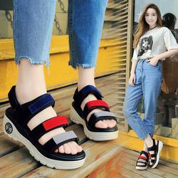 Giày Sandal Nữ  cao gót màu sắc thời trang phong cách Hàn Quốc -SG0385