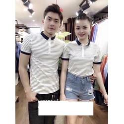 áo thun couple viến tay Hàn Quốc