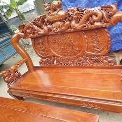 Bộ bàn ghế Nghê Đỉnh Hương vân