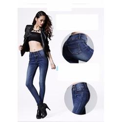 Quần Jeans nữ thời trang, kiểu dáng ôm thân,  quyến rũ - H10820994