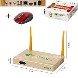 Android Tivi Box AN-3010 + Chuột - 1GB RAM
