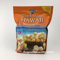Nhân macca tẩm muối biển vùng Hawaii
