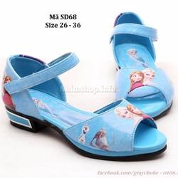Dép sandal công chúa Elsa và Anna cho bé gái SD68