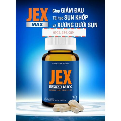 Viên bổ khớp Jex max - Chai 30 viên