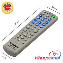 Remote tivi đa năng - dùng cho mọi tivi