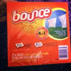 160 tờ- Giấy thơm sấy quần áo Bounce