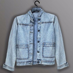 áo khoác jean nữ cực kute