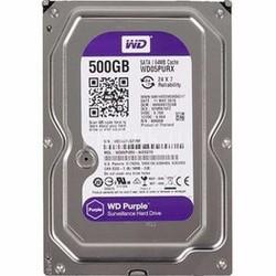 ổ cứng WD PURPLE 500GB Màu tím chuyên dụng cho camera, hàng công ty
