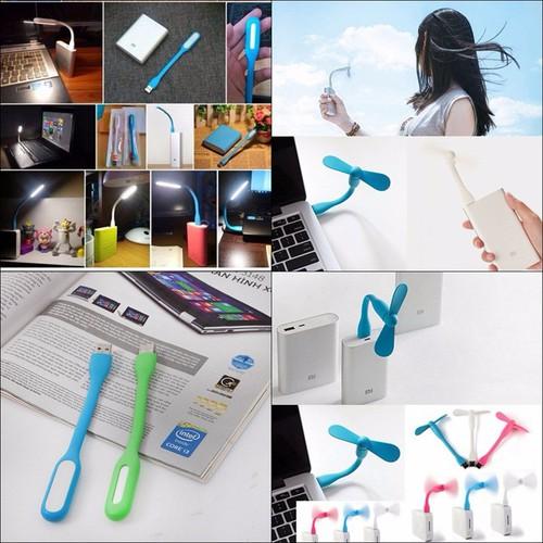 Combo 1 Đèn Led Dẻo -1 Quạt Cánh Rời Cổng USB