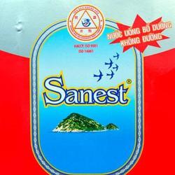 Nước Yến sào Sanest lon 190ml không đường hộp 6 lon