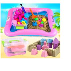 Bộ đồ chơi cát nặn vi sinh 5+ tăng khả năng sáng tạo cho bé