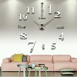 Đồng hồ treo tường 3D