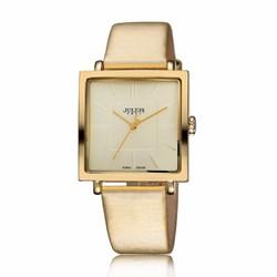 Đồng hồ nữ JULIUS Hàn Quốc mặt vuông JU1213 Vàng
