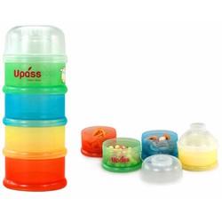 Hộp đựng sữa bột 4 ngăn không BPA UP8003C