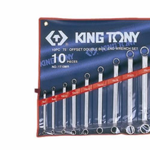 6-32mm bộ hai đầu vòng 10 cái hệ mét Kingtony 1710MR