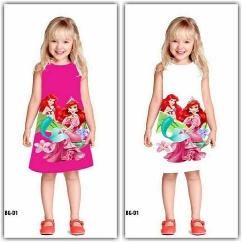 Đầm nàng tiên cá Ariel MM001