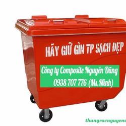 Thùng rác công cộng 660L gia rẻ trên thị trường hiện nay.