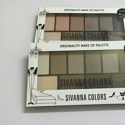 Phấn Mắt Sivanna Colors Originality Makeup Palette Tone 6