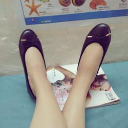 giày búp bê nơ chuồn