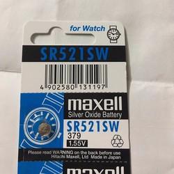 Pin nhật Maxell SR521SW - 379