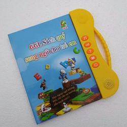 Sách điện tử song ngữ anh - việt cho trẻ 2-7 tuổi thông minh